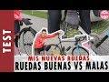 RUEDAS BUENAS vs MALAS en CICLISMO   MIS RUEDAS   SORTEO BRUTAL