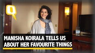 Watch Manisha Koirala Sing her Favourite Song
