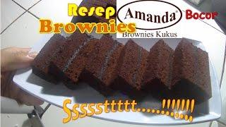 Download Ssstt.. Bocoran Resep Brownies Amanda # How to make Amanda Brownies Mp3