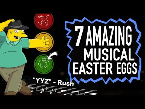 7 Amazing Musical Easter Eggs