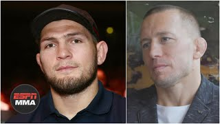 GSP would fight Khabib Nurmagomedov for the right offer | ESPN MMA
