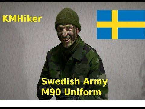 Swedish Army M90 Uniform [ENG]