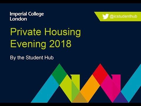 Private Housing Talk 2018