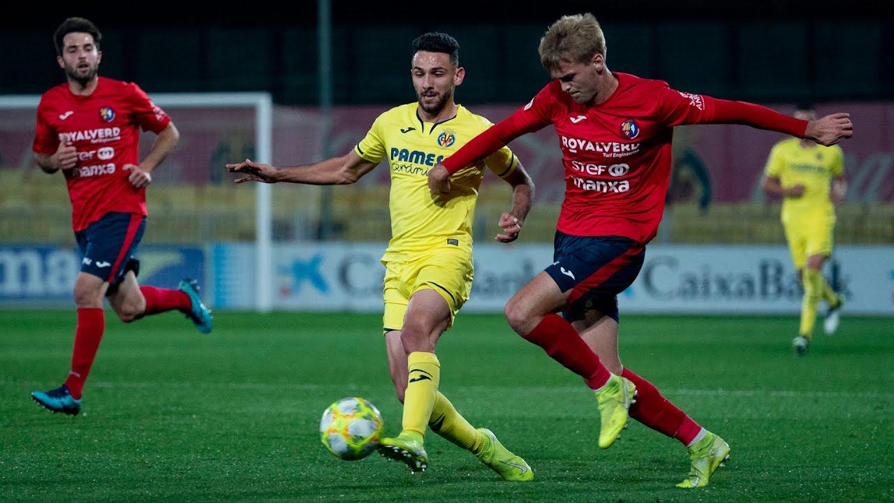 Highlights Villarreal B 1-1 UE Olot