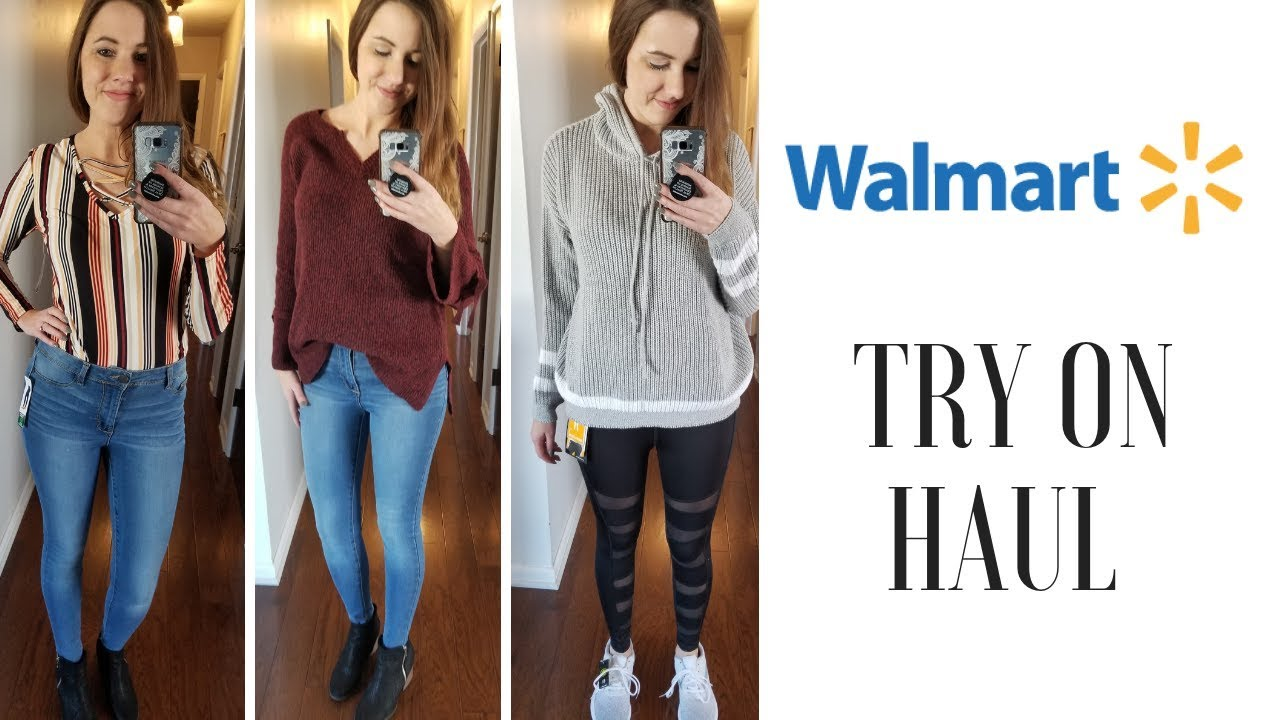 5126a26906 Walmart Fashion 2019- Huge Try On Haul - YouTube