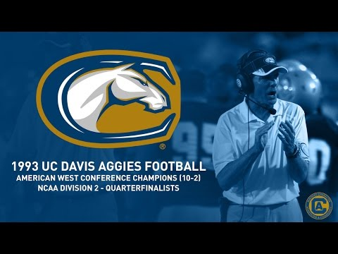 UC Davis Aggies Football - 1993 Highlight Film