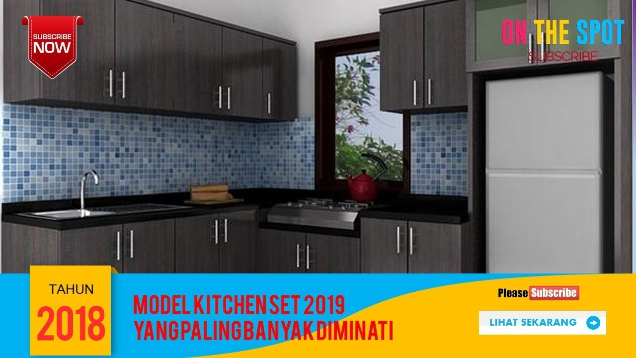 Model Kitchen Set 2019 Model Terbaru Youtube