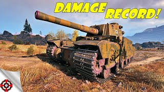 World of Tanks - Type 5 Heavy DAMAGE RECORD! (WoT Type 5 Heavy gameplay)