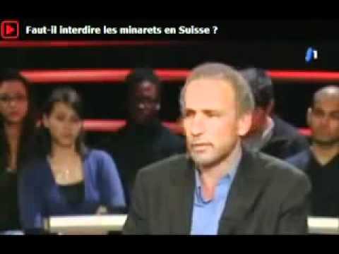 Emission Infrarouge tsr suisse.Tariq Ramadan vs Oskar Freysinger