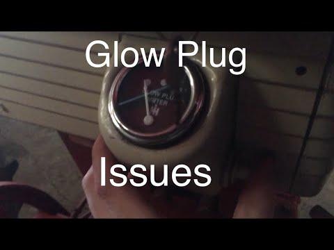 Farmall 560 Glow Plug Issues on