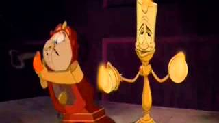 flushyoutube.com-Beauty and the Beast Lumiere and Cogsworth Normal,Fast and Slow