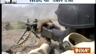 Double Danger at LoC, Chinese Bunker at Pak Border - India TV