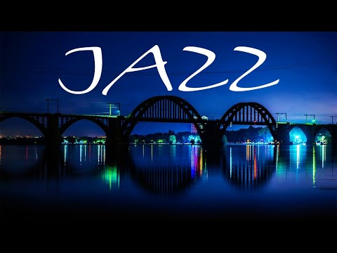 Night Jazz Music - Smooth JAZZ &  Lights of Night City - Night Traffic JAZZ