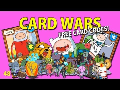 Adventure Time : Card Wars - NEW CARD CODES! w/ SwimmingBird941 48 - iOS iPhone iPod iPad Android