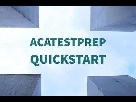 Implementing Brainbuffet ACA Test Prep
