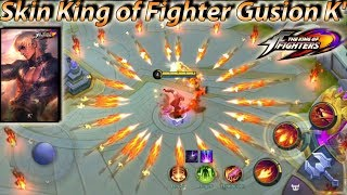 Gusion No Cooldown Skills Skin King of Fighter K' - Mobile Legends