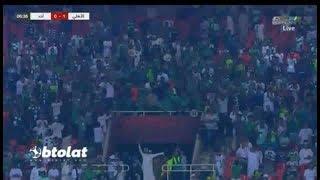 اهداف مباراة الاهلى السعودى و احد 5_1 الدورى السعودى