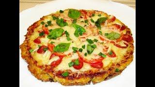 Пицца дачная, та, что на скорую руку! И всё равно вкусно!