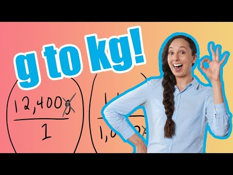 g to kg (How To Convert Grams to Kilograms)