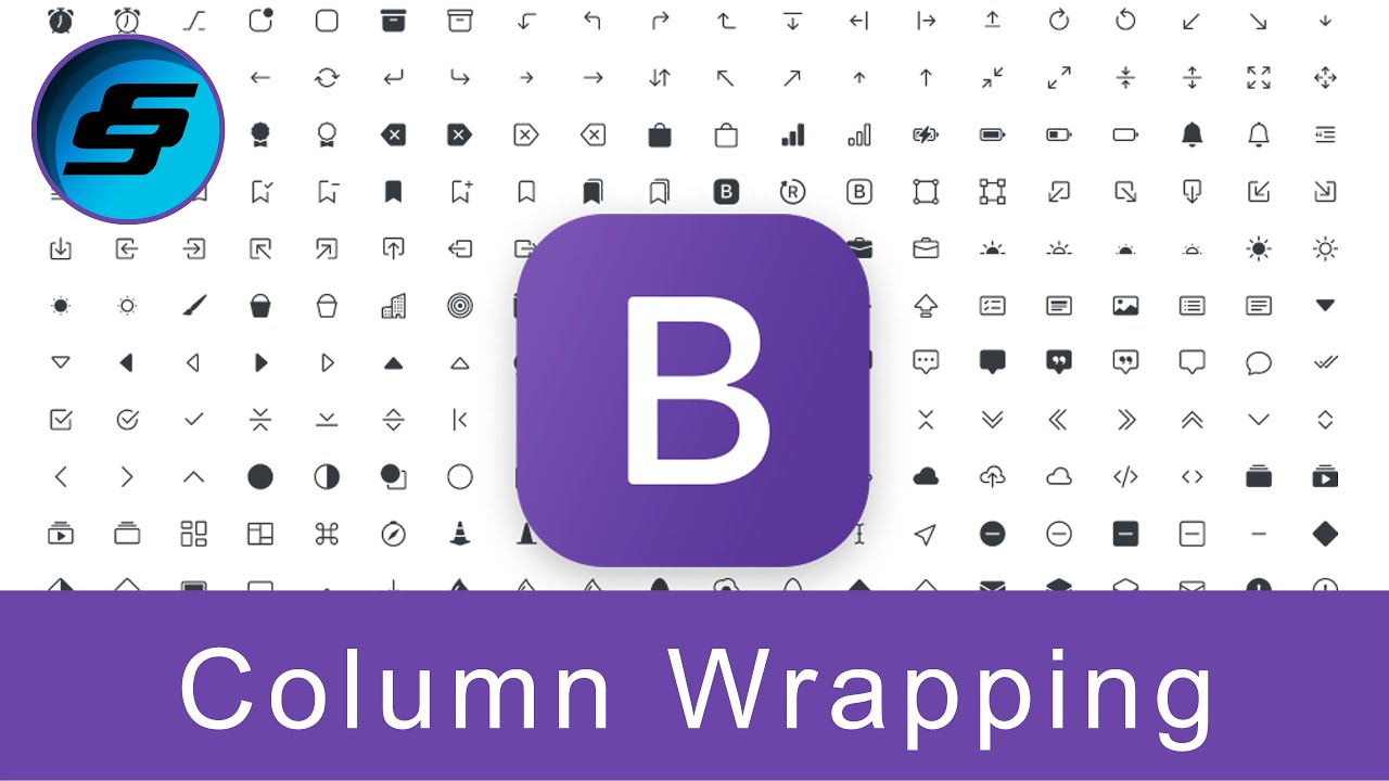Column Wrapping - Bootstrap 5 Alpha Responsive Web Development and Design