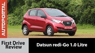 Datsun redi-GO 1.0L - First Test Drive - Autoportal