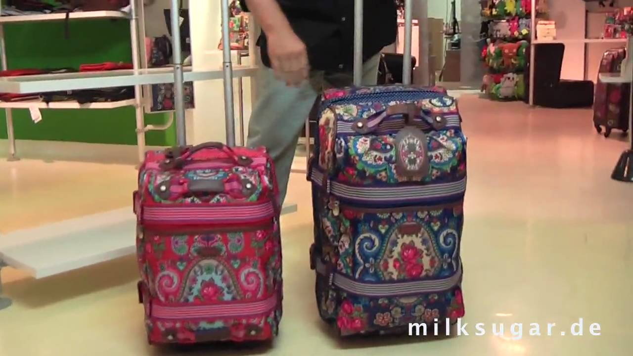 Reisetasche Trolley Oilily Travel Kollektion 2010 - Soft Trolley - Youtube