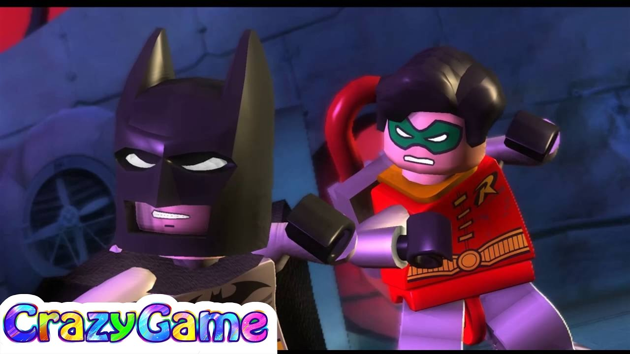 LEGO Batman The Videogame Episode 2 Batman, Robin vs Mr ...
