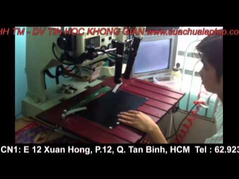 Chuyên viên dạy sửa chữa sọc chỉ màn hình LCD