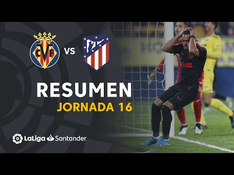 Resumen de Villarreal CF vs Atlético de Madrid (0-0)