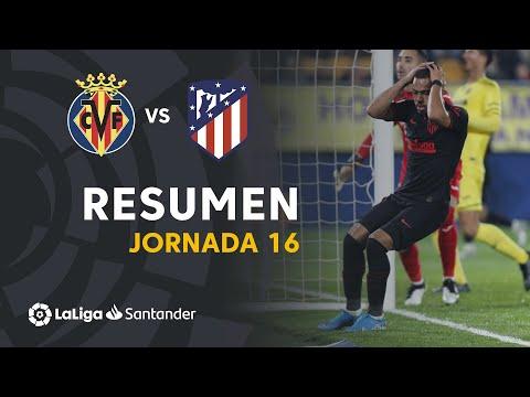 Resumen De Villarreal CF Vs Atlético De Madrid (0-0)