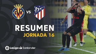 Highlights Villarreal CF vs Atlético de Madrid (0-0)