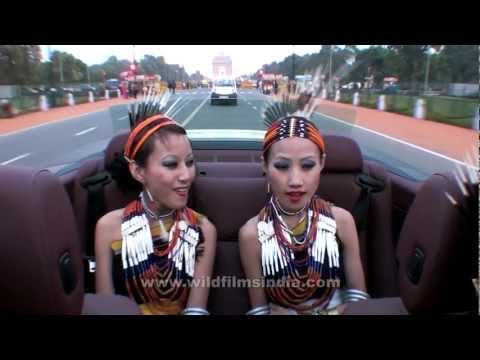 Tetseo Sisters driving in Lutyens' Delhi!