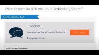 FIFA EA Tutorial: Wie schreibe ich EA an ? EA Live Chat anschreiben erreichen bei Problemen Deutsch
