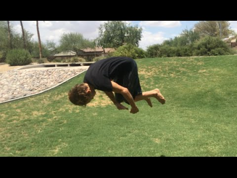 fc4f38a01 How to do a front flip for beginners flat ground - YouTube