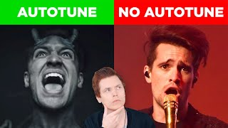 Autotune vs No Autotune (Brendon Urie, Halsey & MORE)