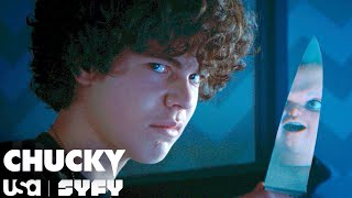 Will Chucky and Jake Join Forces?   Chucky TV Series (S1 E2)   USA Network & SYFY