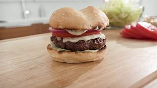 Red White and Blue Burger Recipe | Camp Chef