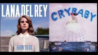 Melanie Martinez vs Lana Del Rey - Blue Dollhouse (Mashup)
