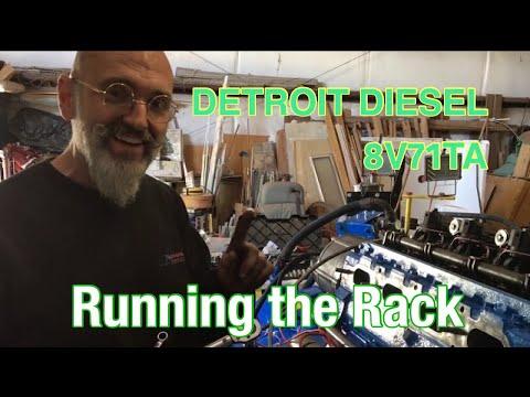 Running The Rack On A Detroit Diesel 8V71