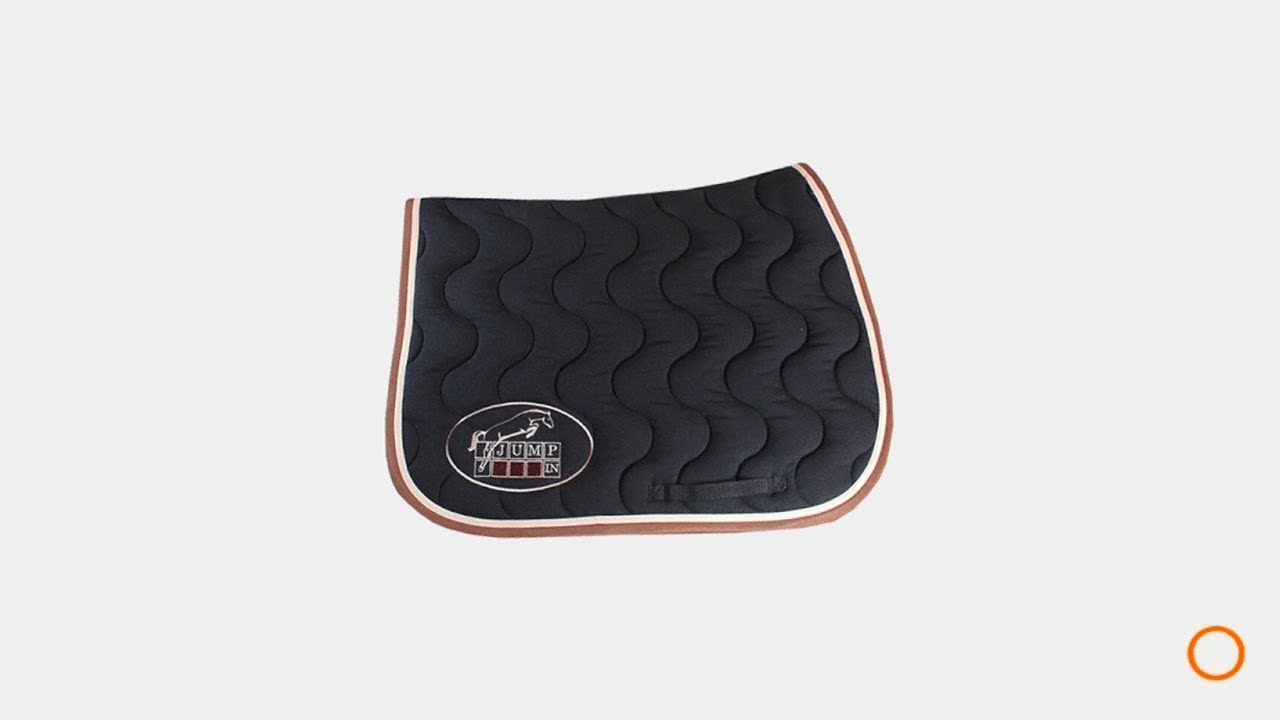 Tapis De Selle Jump In Noir Ohlala Sellerie Youtube