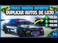 !SOLO SIN AYUDA! NUEVO TRUCO GTA 5 ONLINE DUPLICAR AUTOS DE LUJO PS4 XBOX ONE