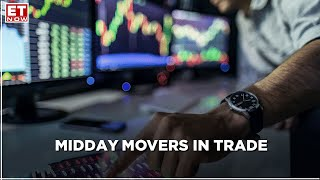 Midday Movers: Nifty trading around the 14300 level; Sensex plunges over 1,700 pts