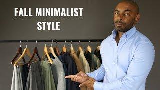 How To Build A Minimalist Fall Wardrobe