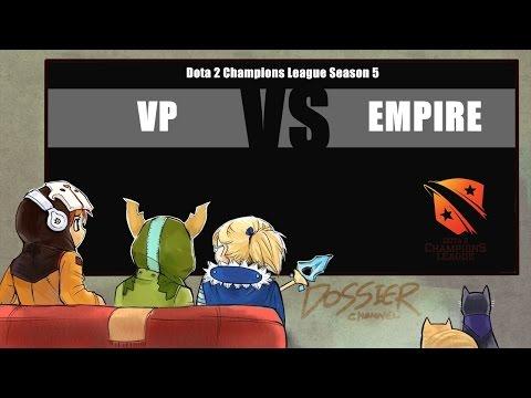 [ Dota2 ] VP vs Empire - Dota 2 Champions League Season 5 - Thai Caster