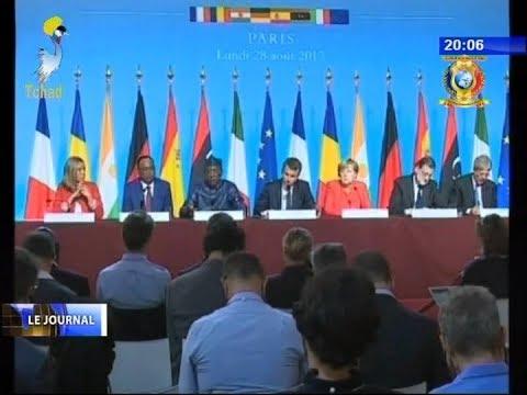 INFOS TELE TCHAD DU 28 AOUT 2017  -  Spécial mini sommet Afrique Europe sur la migration
