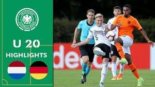 Joker Kühn dreht die Partie | Niederlande - Deutschland 1:2 | Highlights | U 20 Länderspiel