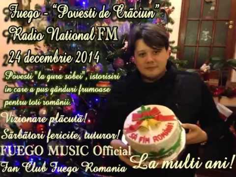 "FUEGO - ""Povesti de Craciun"" (Radio National FM, 24 decembrie 2014)"