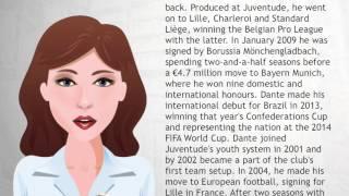 Dante footballer - Wiki Videos
