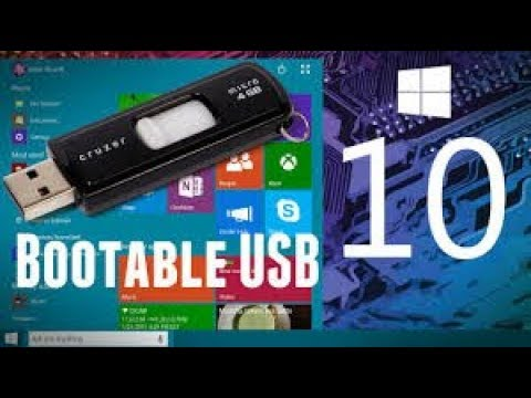 How To Easily Create Windows 10 Bootable USB Drive 2018| UPDATED! 2018