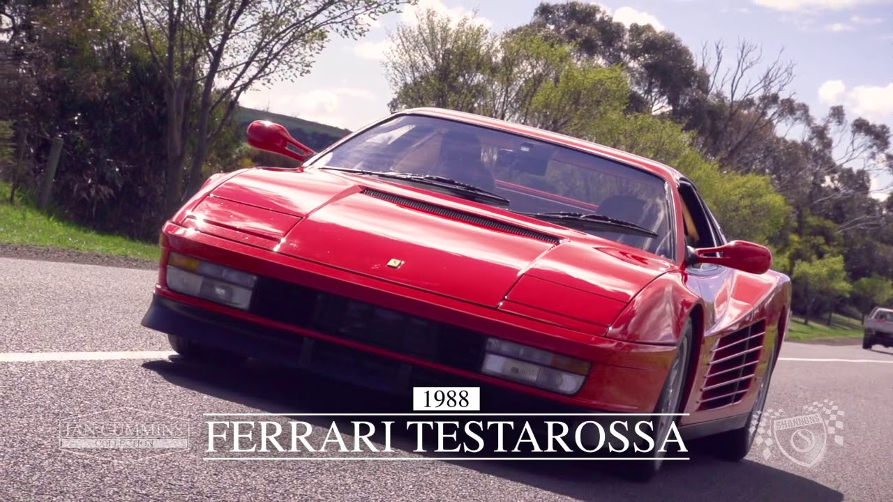 1988 Ferrari Testarossa Coupe -  2017 Melbourne November Auction - 'Ian Cummins Collection'
